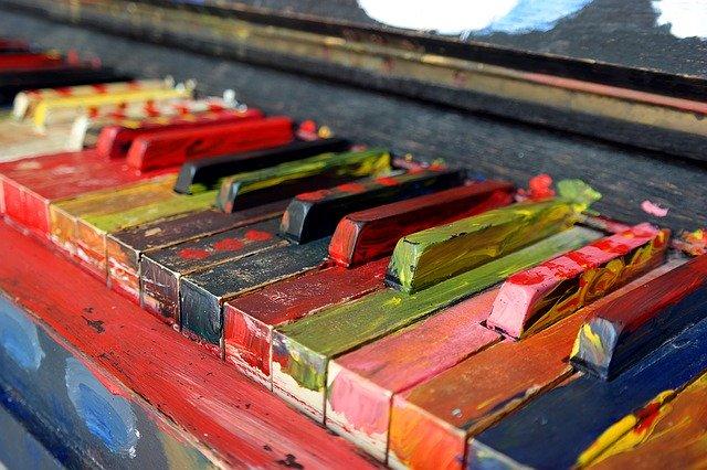 La méthode pour peindre un piano